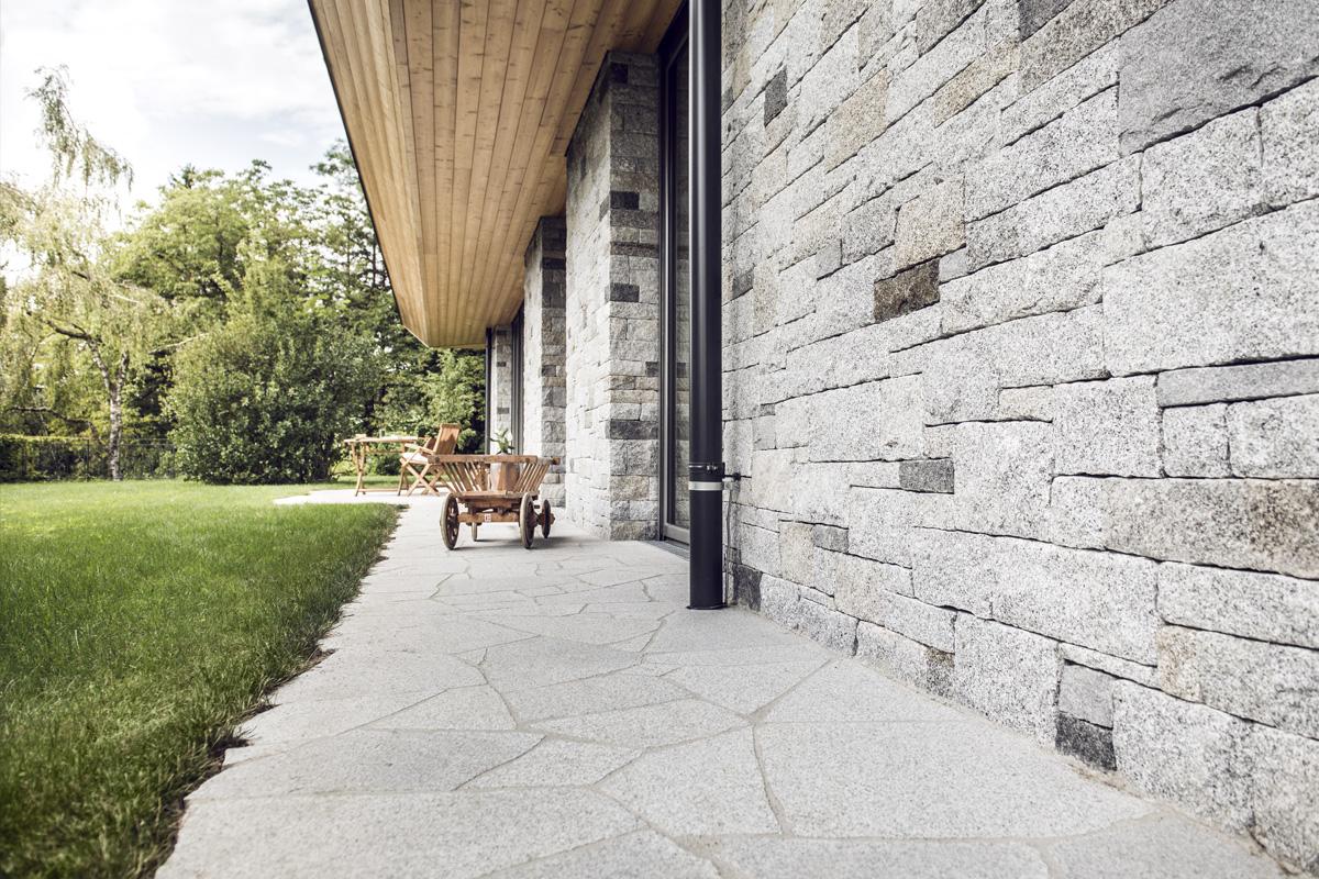 2) Polygonalplatten Palladiana