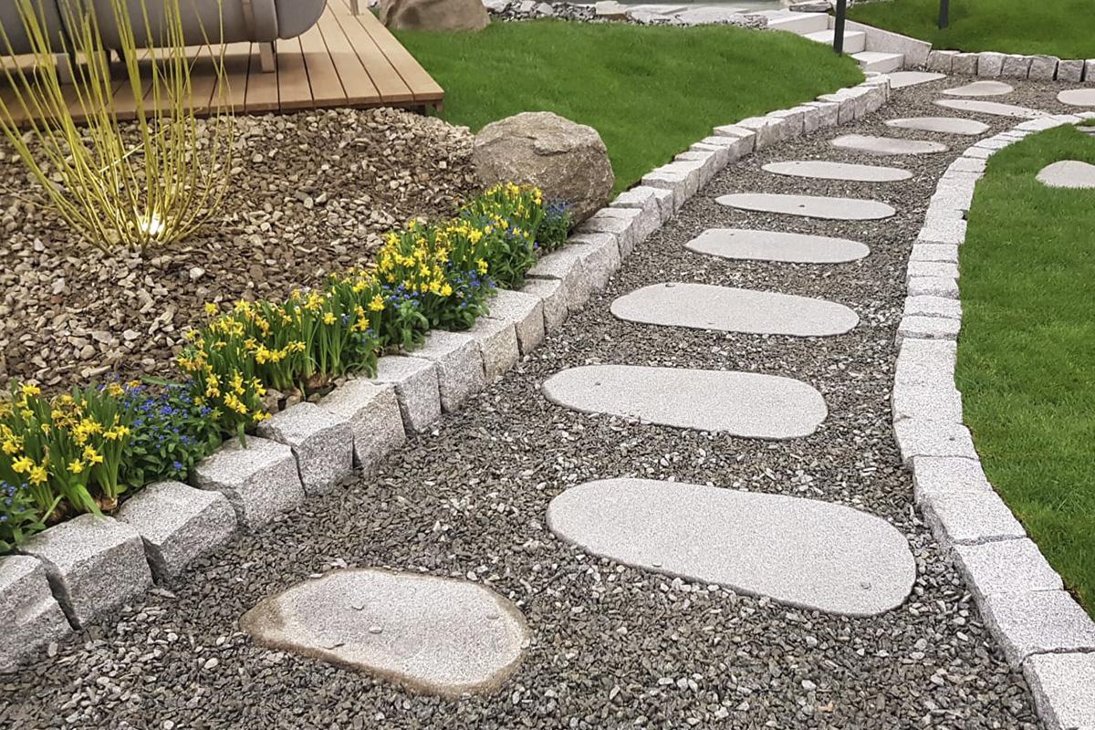 3) Gartenwegplatten Elegantplatten