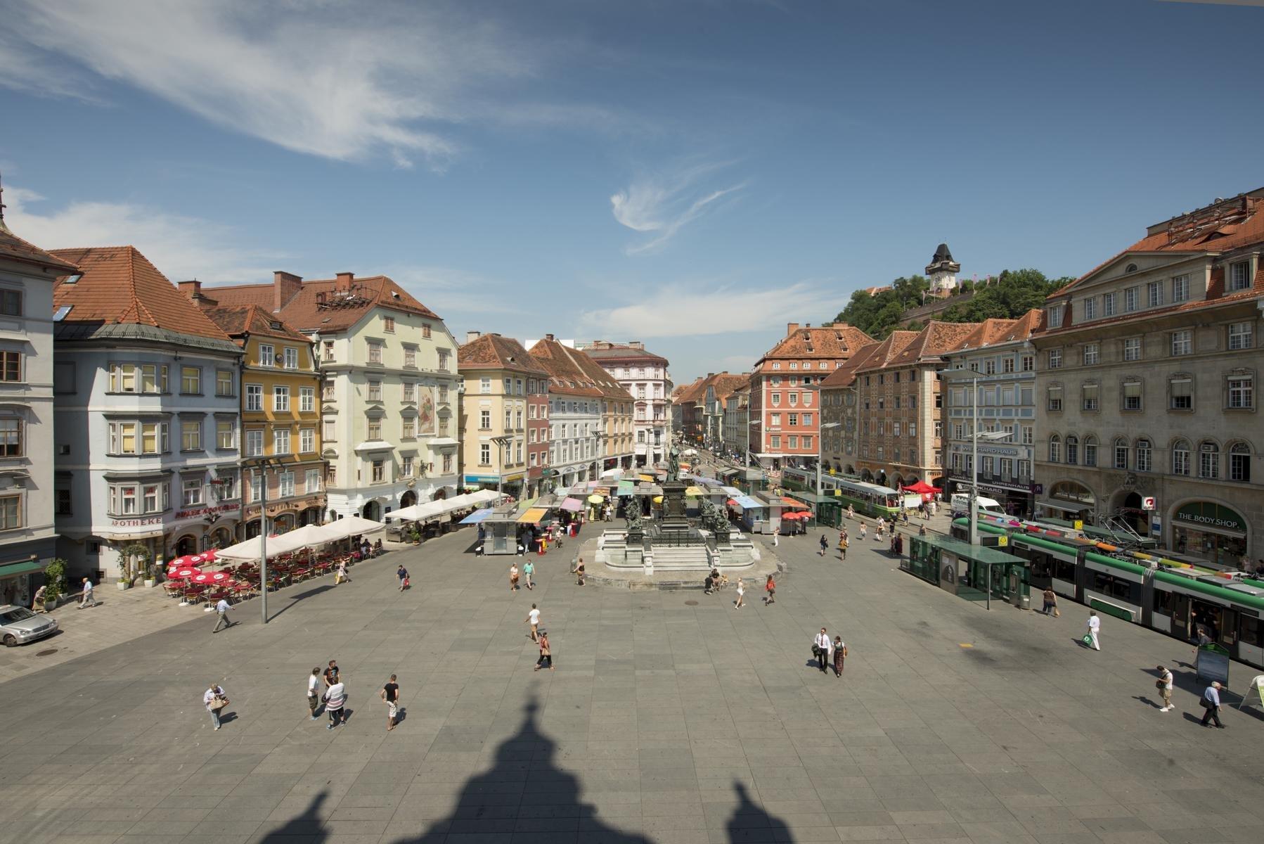 Graz - Hauptplatz1