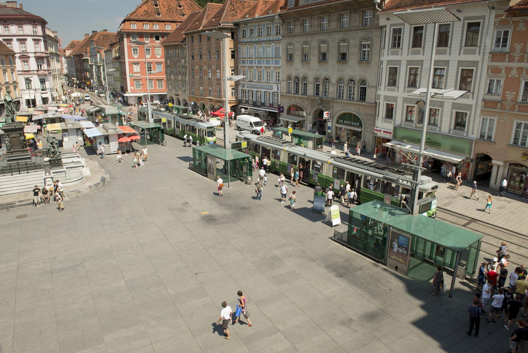 Graz - Hauptplatz2