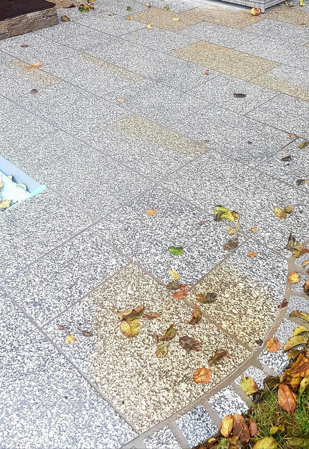 Herschenberger Bodenplatten Grau-gelb10 NASS