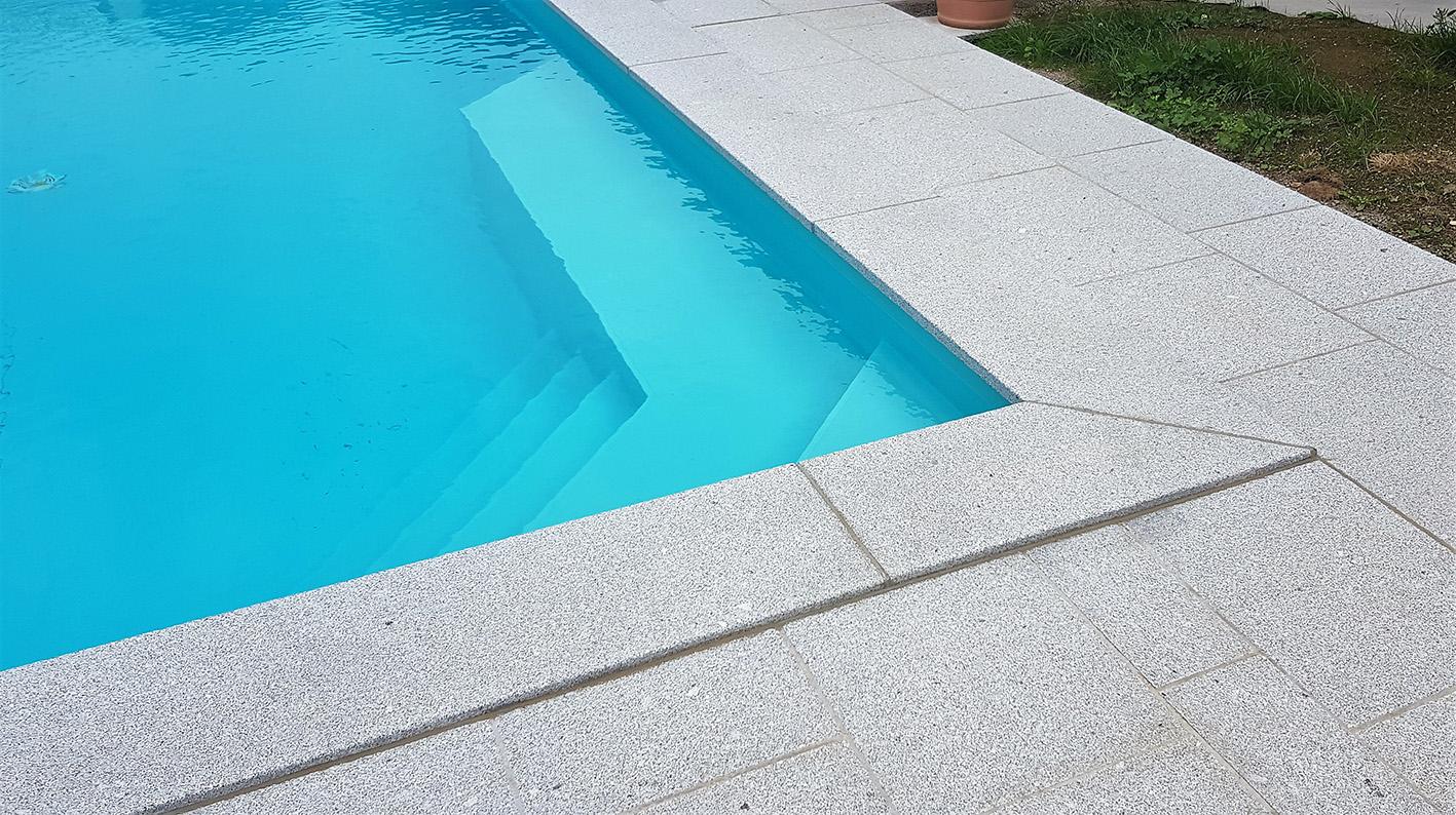 Perger Bodenplatten + Poolumrandung