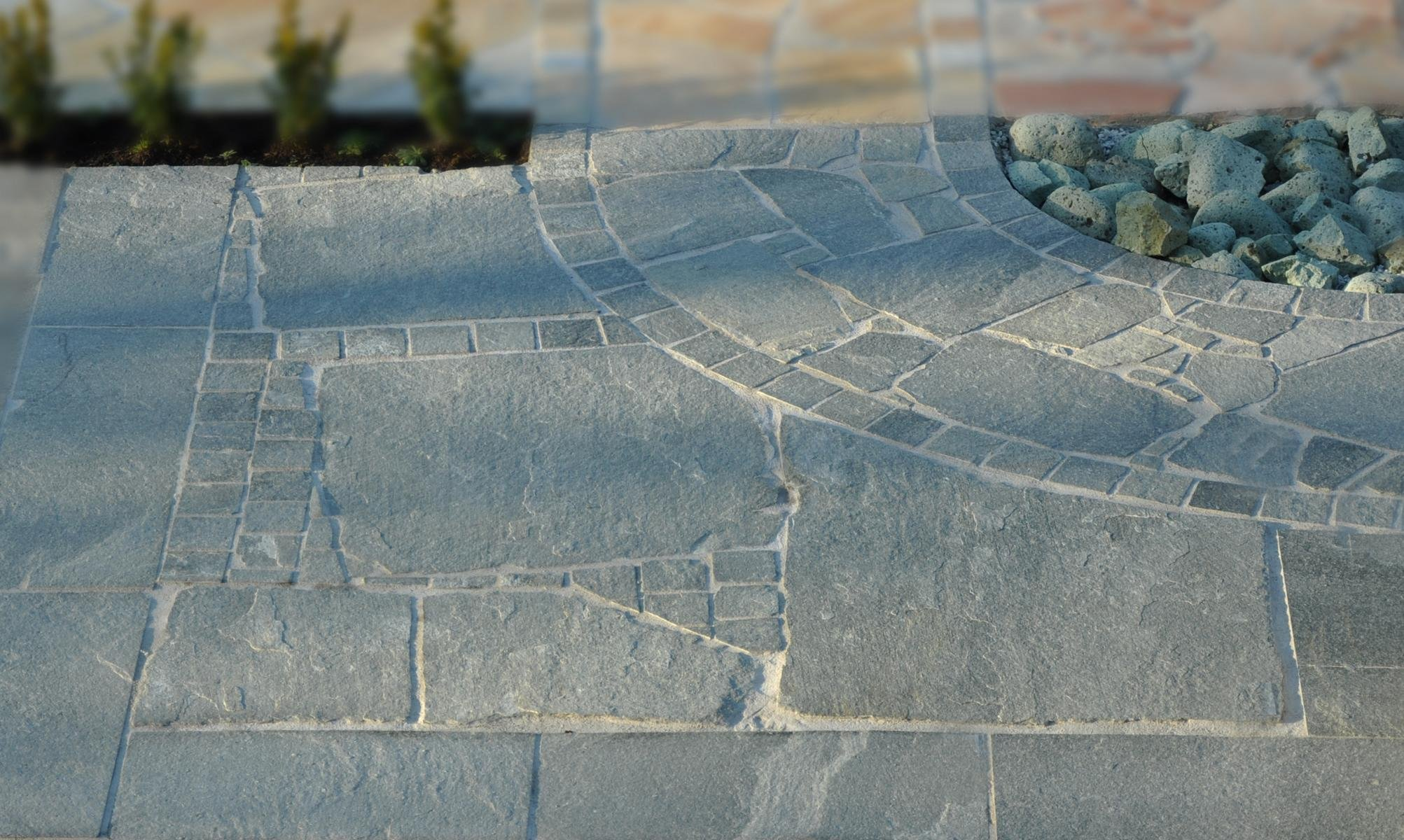 Quarzit Kavala Bodenplatten4