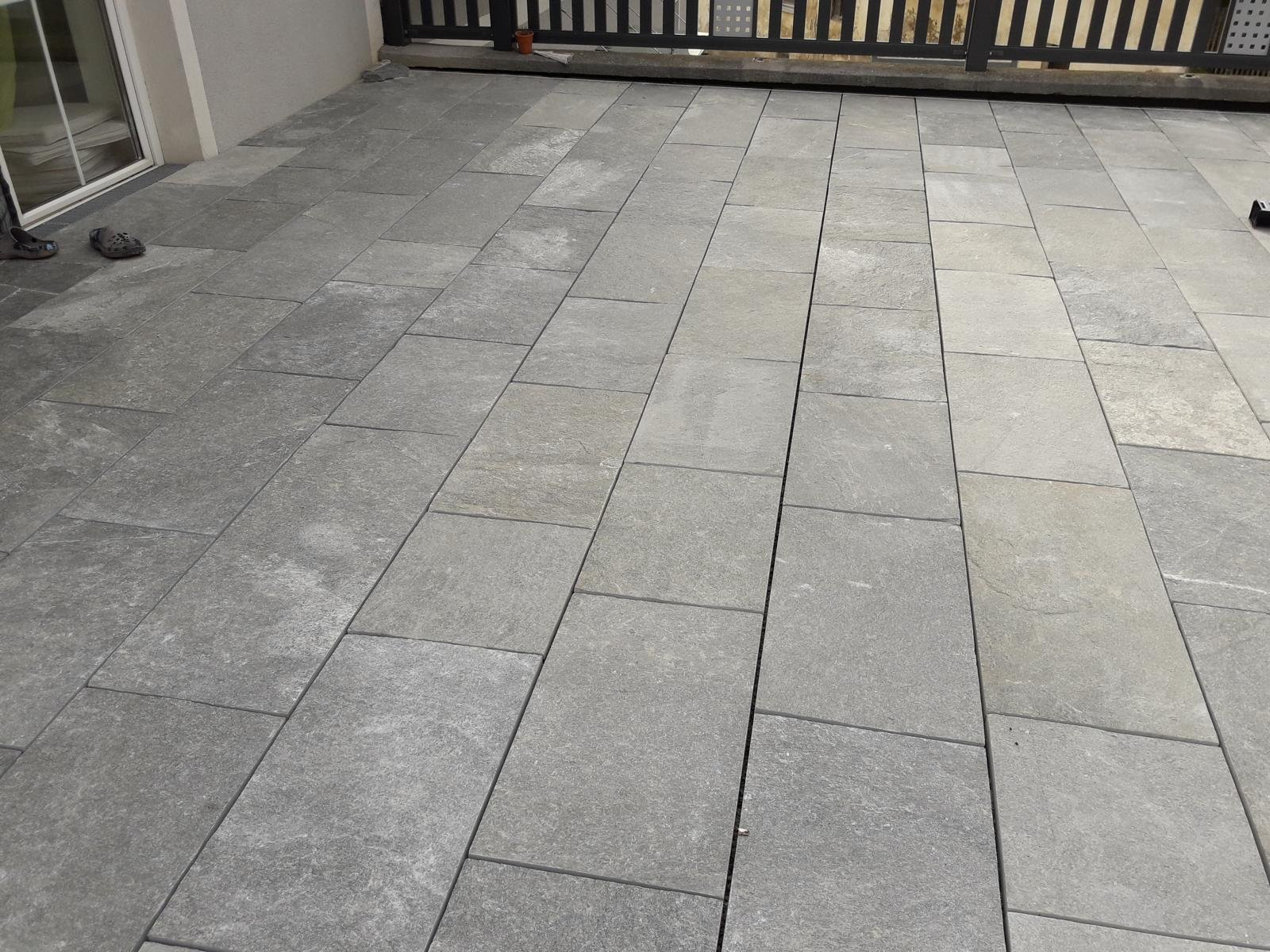 Quarzit Kavala Bodenplatten5