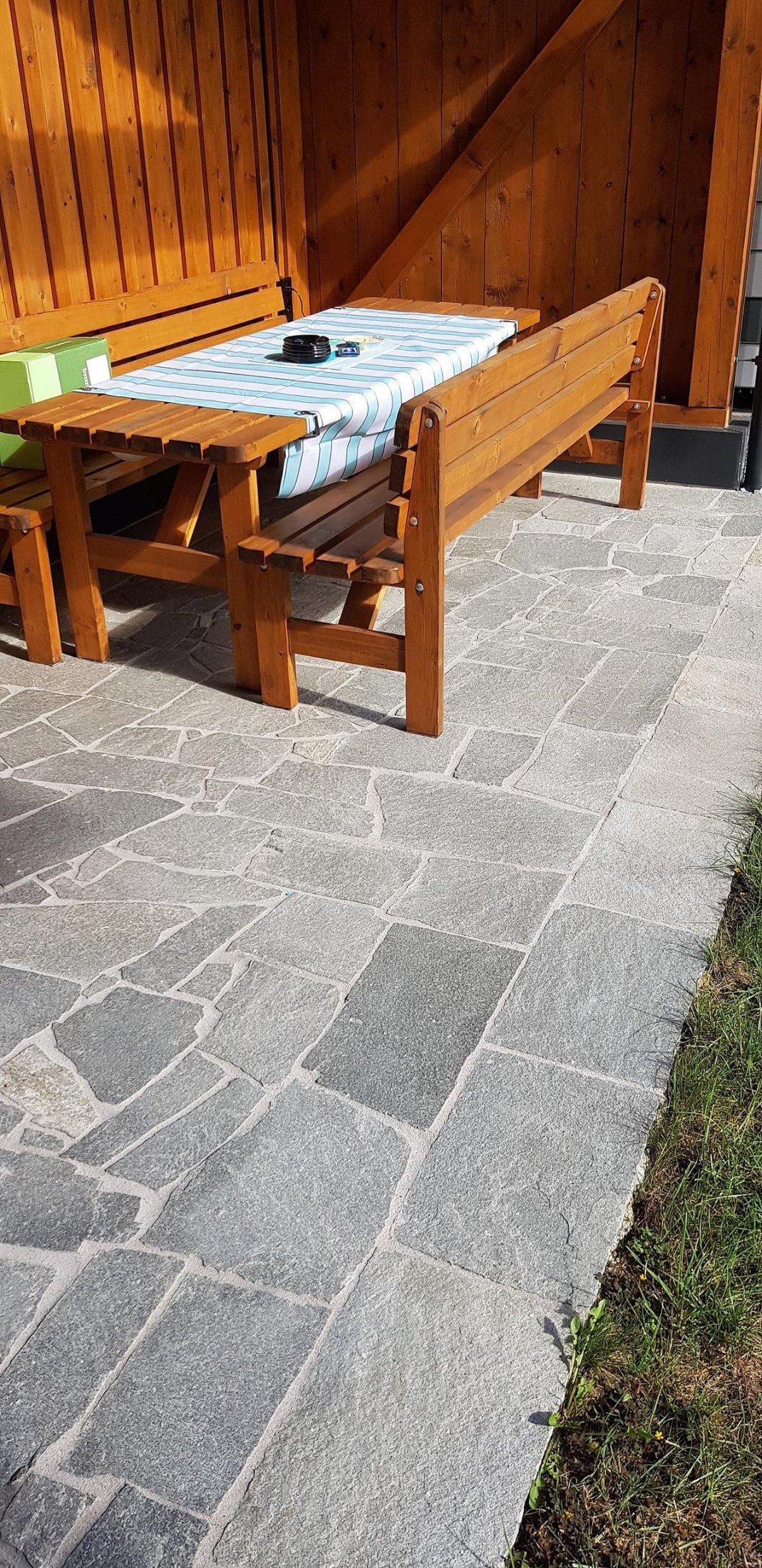 Quarzit Kavala Polygonalplatten8