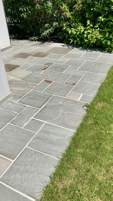 Sandstein Grey Bodenplatten (3)