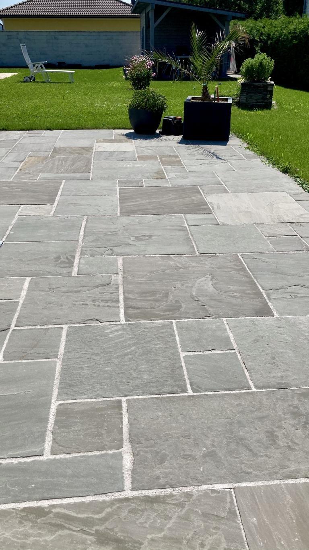 Sandstein Grey Bodenplatten (4)