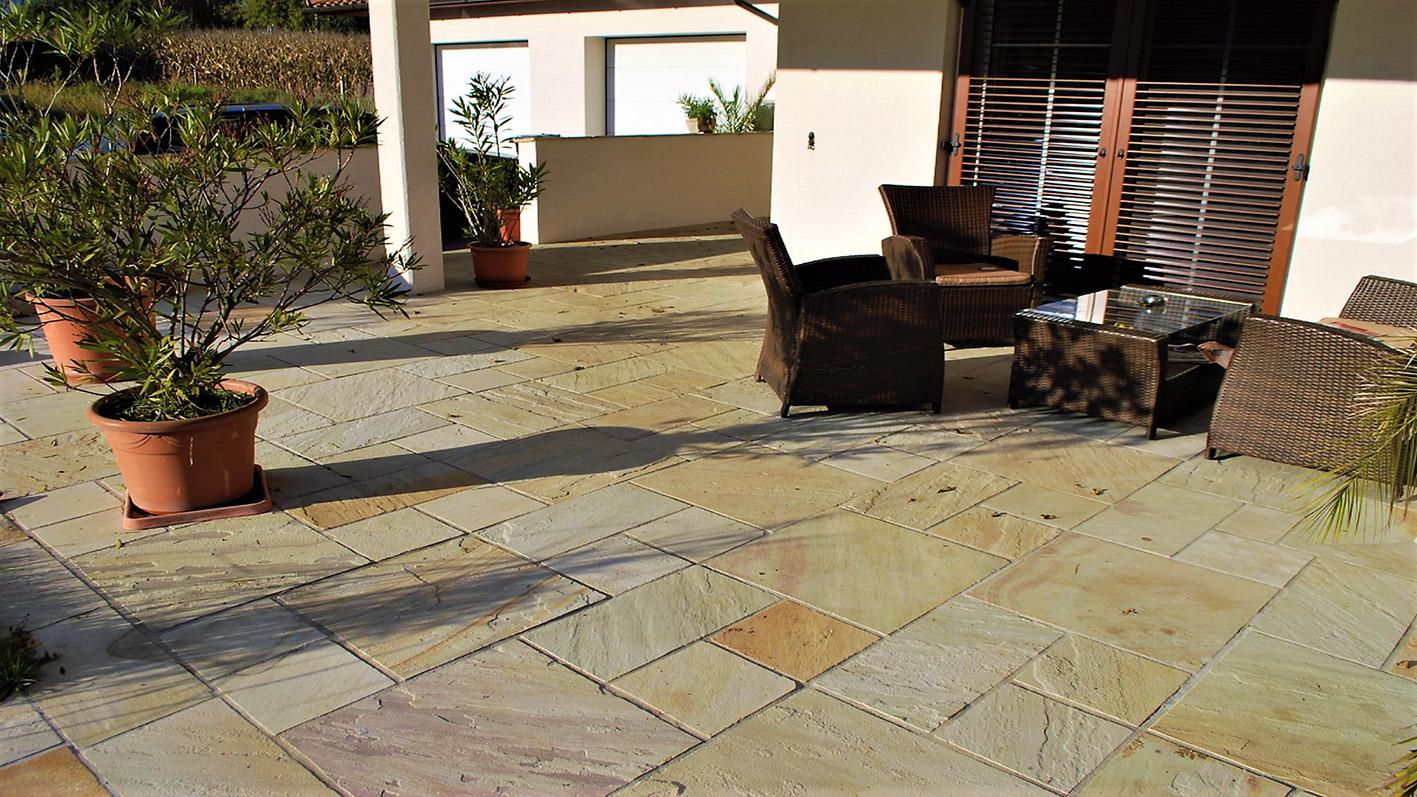 Sandstein Mint Bodenplatten1