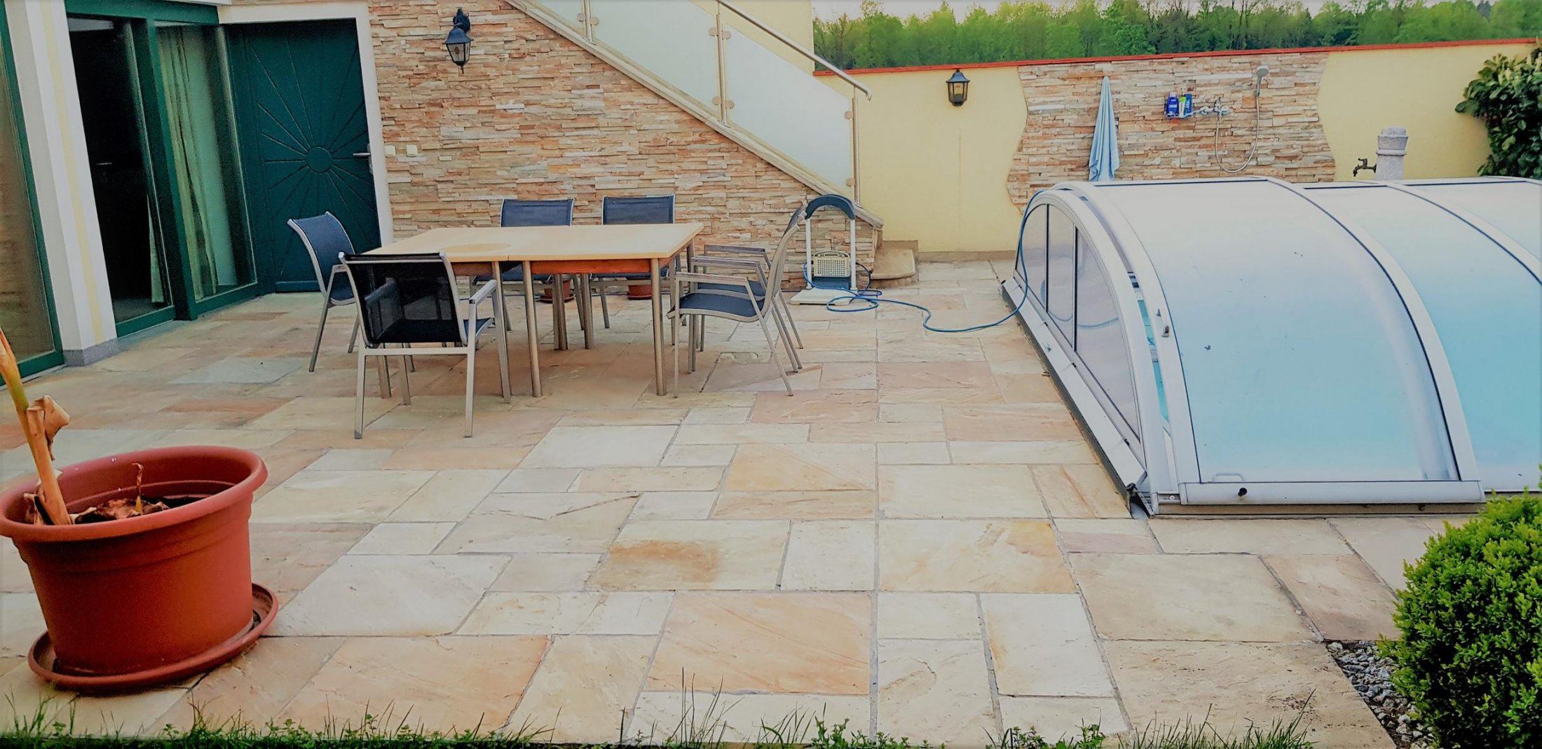Sandstein Mint Bodenplatten11