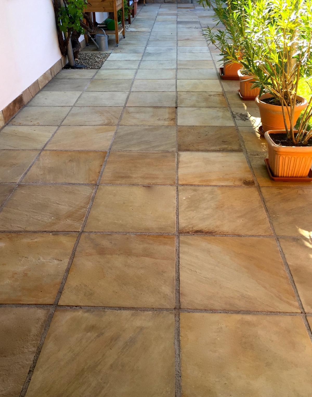 Sandstein Mint Bodenplatten13