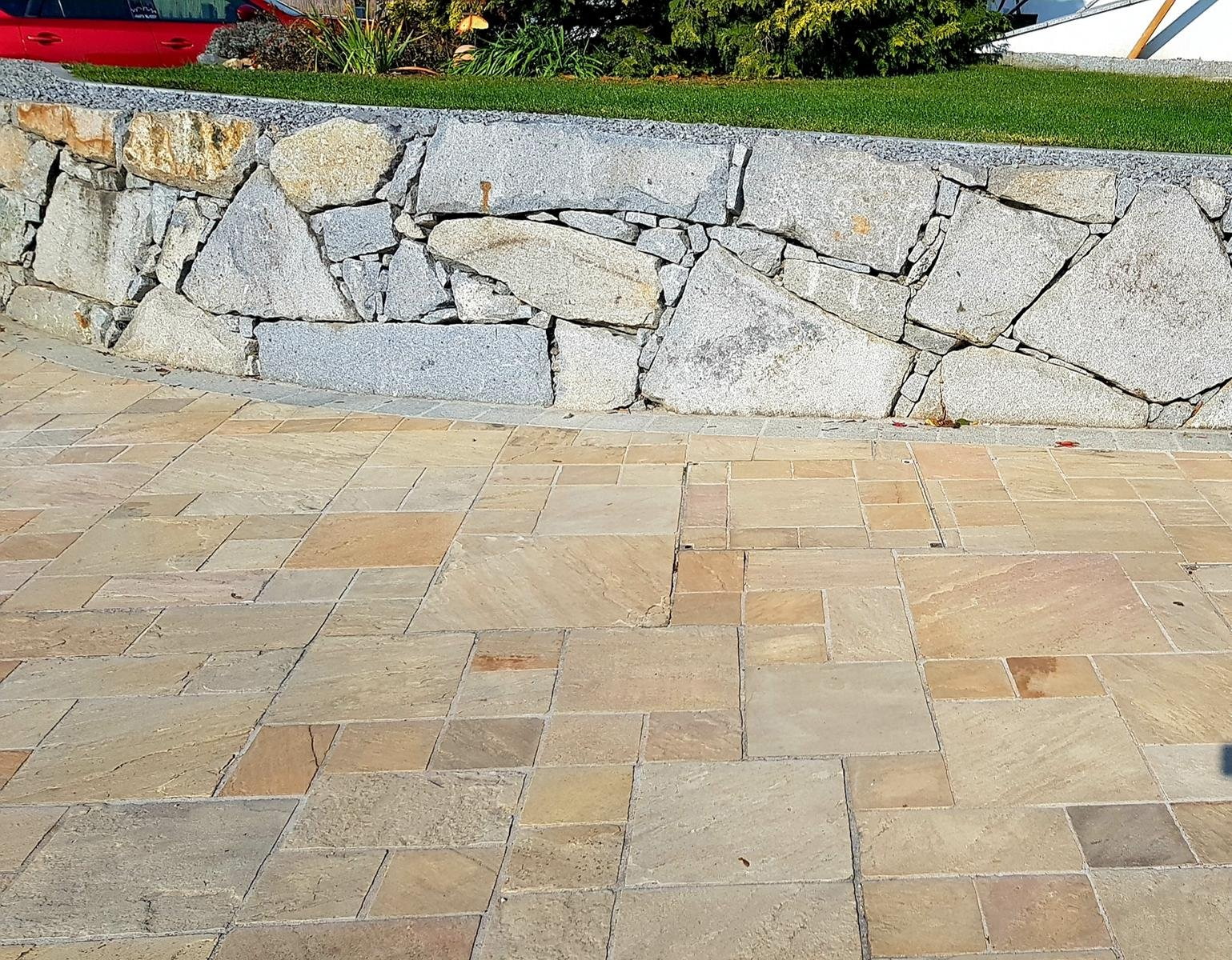 Sandstein Mint Bodenplatten14
