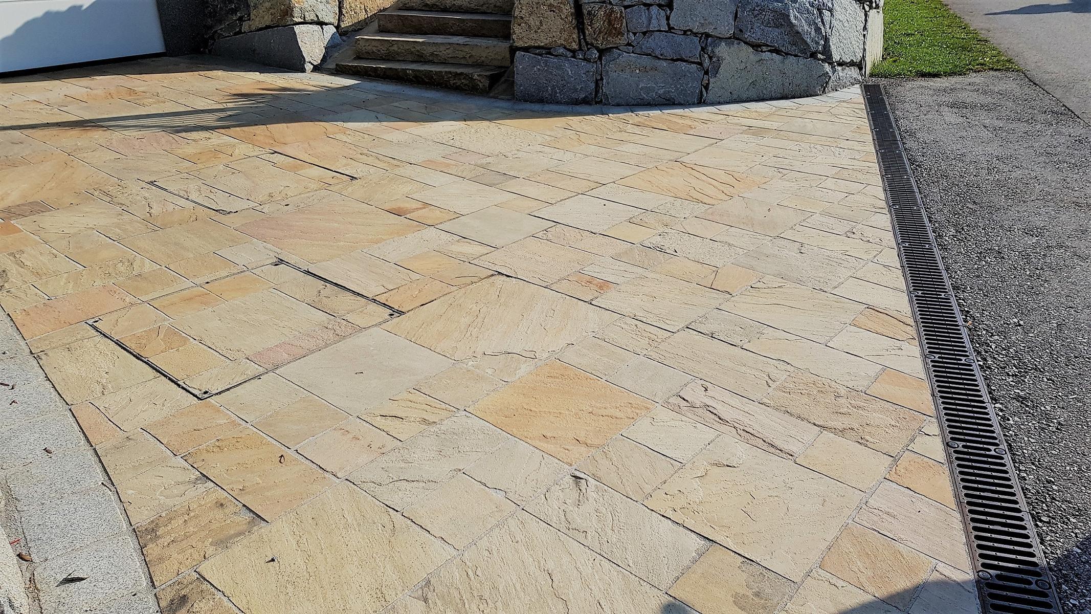 Sandstein Mint Bodenplatten15