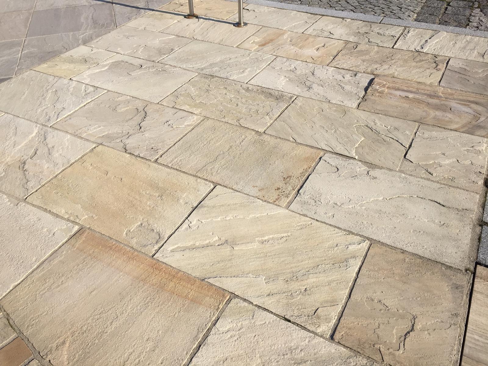 Sandstein Mint Bodenplatten17