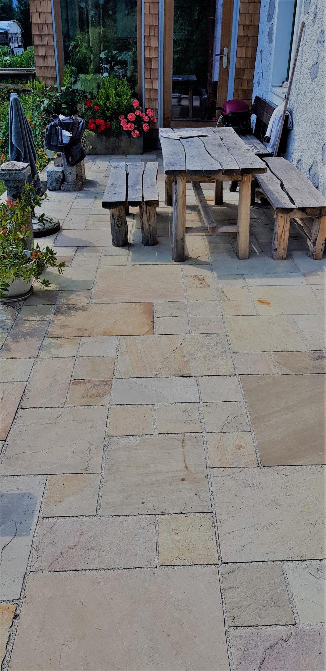 Sandstein Mint Bodenplatten2