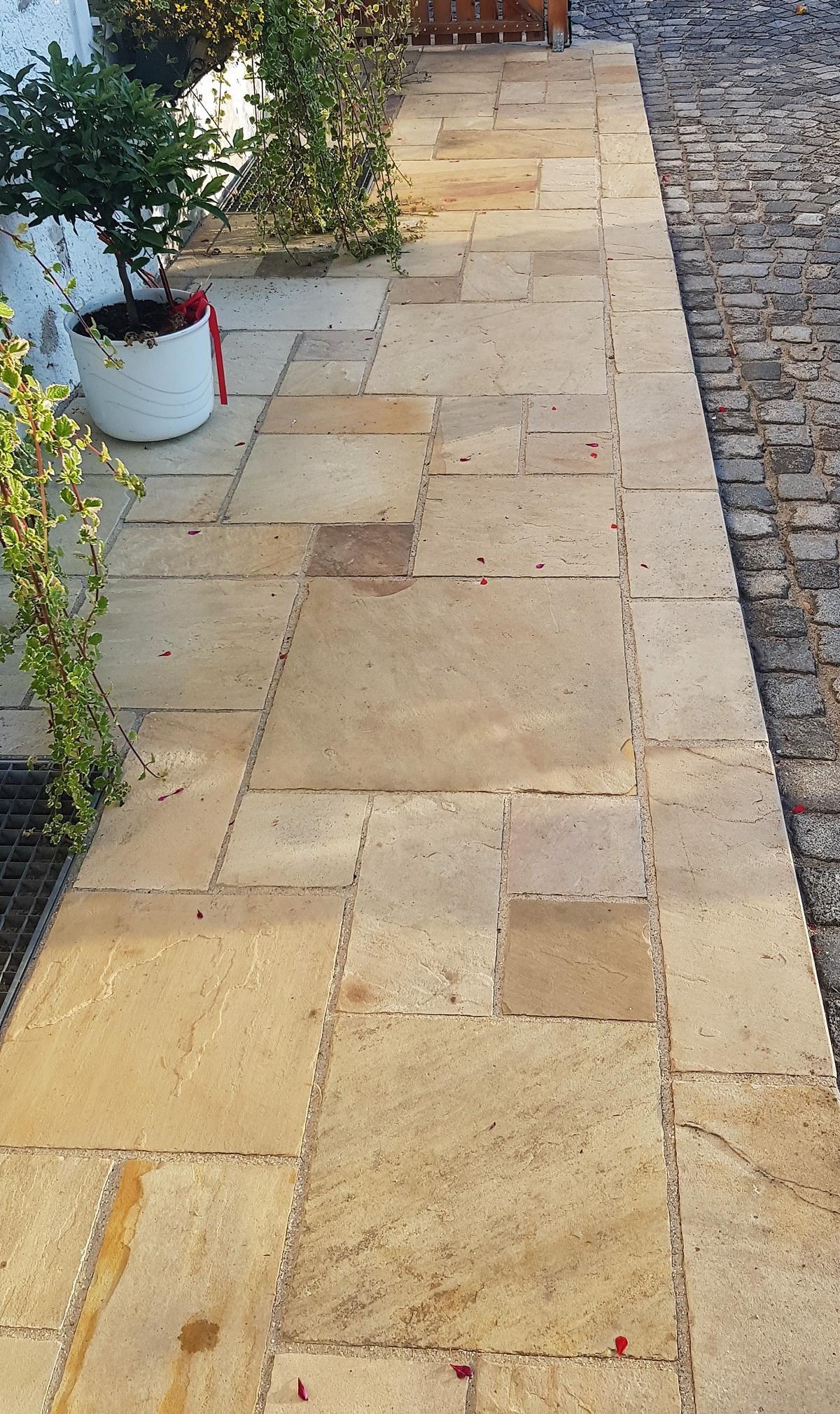 Sandstein Mint Bodenplatten3