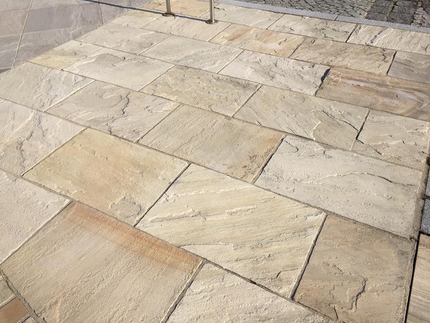 Sandstein Mint Bodenplatten4