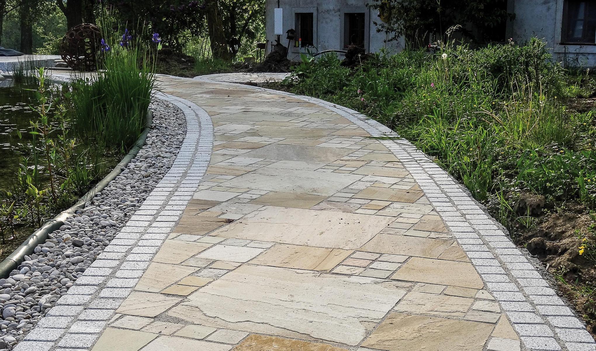 Sandstein Mint Bodenplatten5