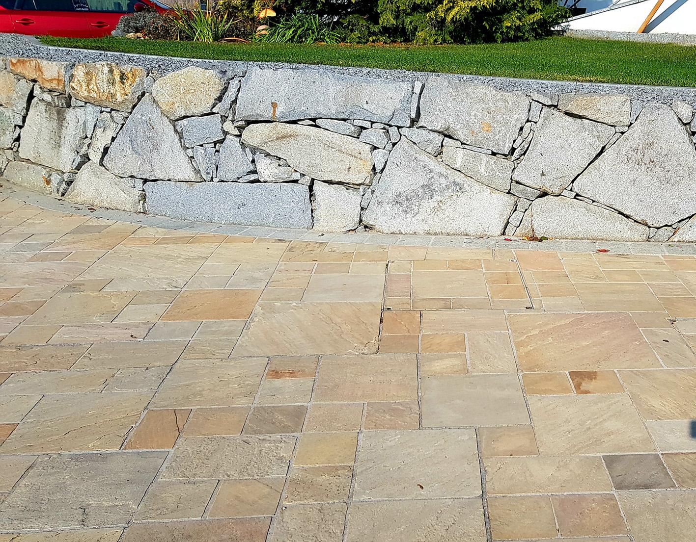 Sandstein Mint Bodenplatten7