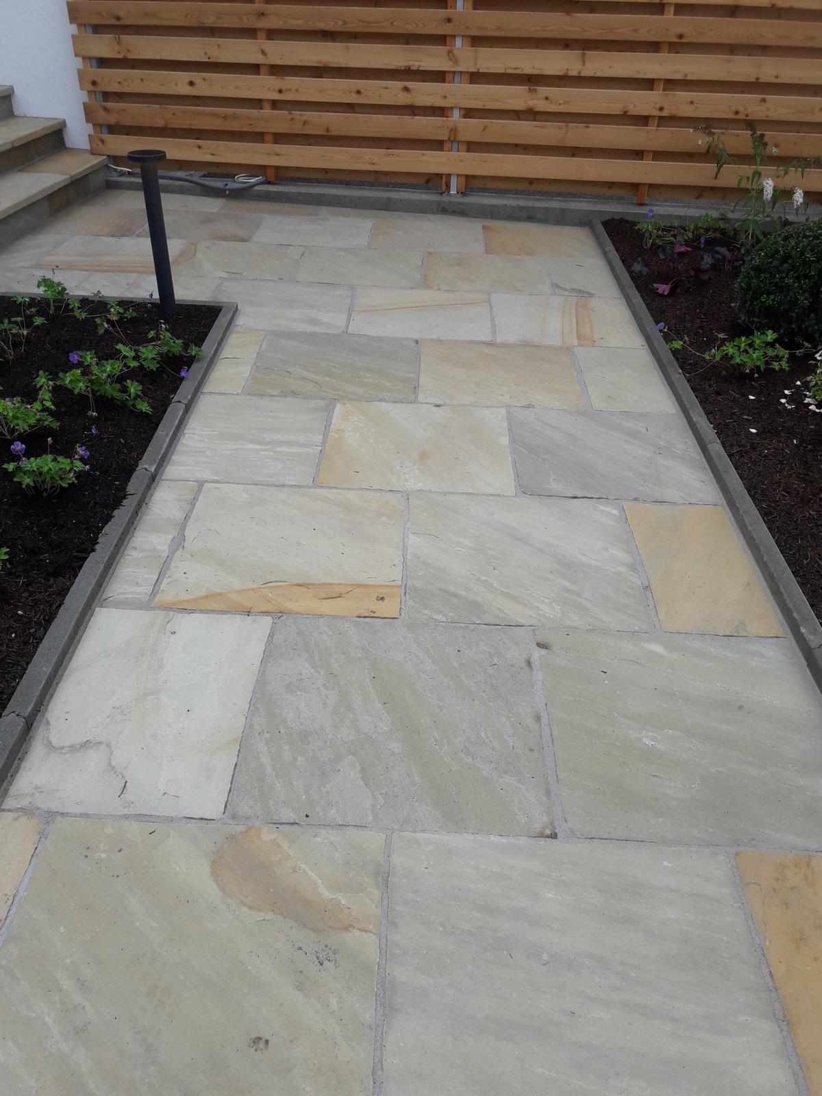 Sandstein Mint Bodenplatten8
