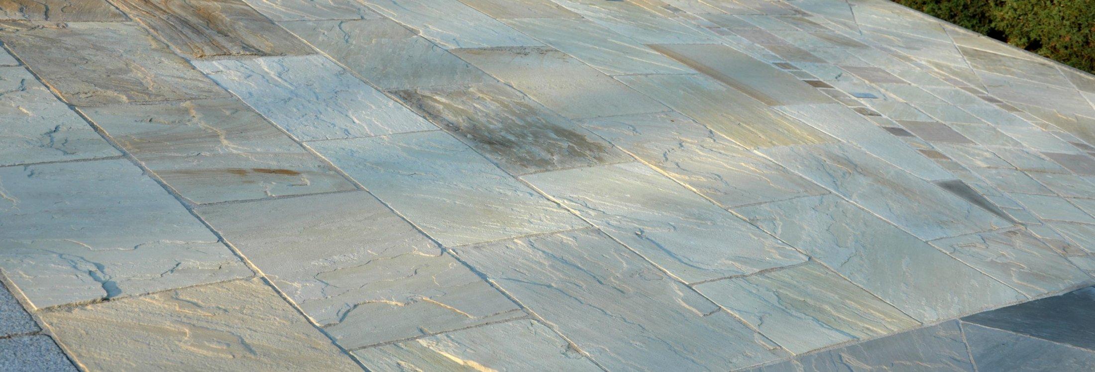 Sandstein Mint Bodenplatten9