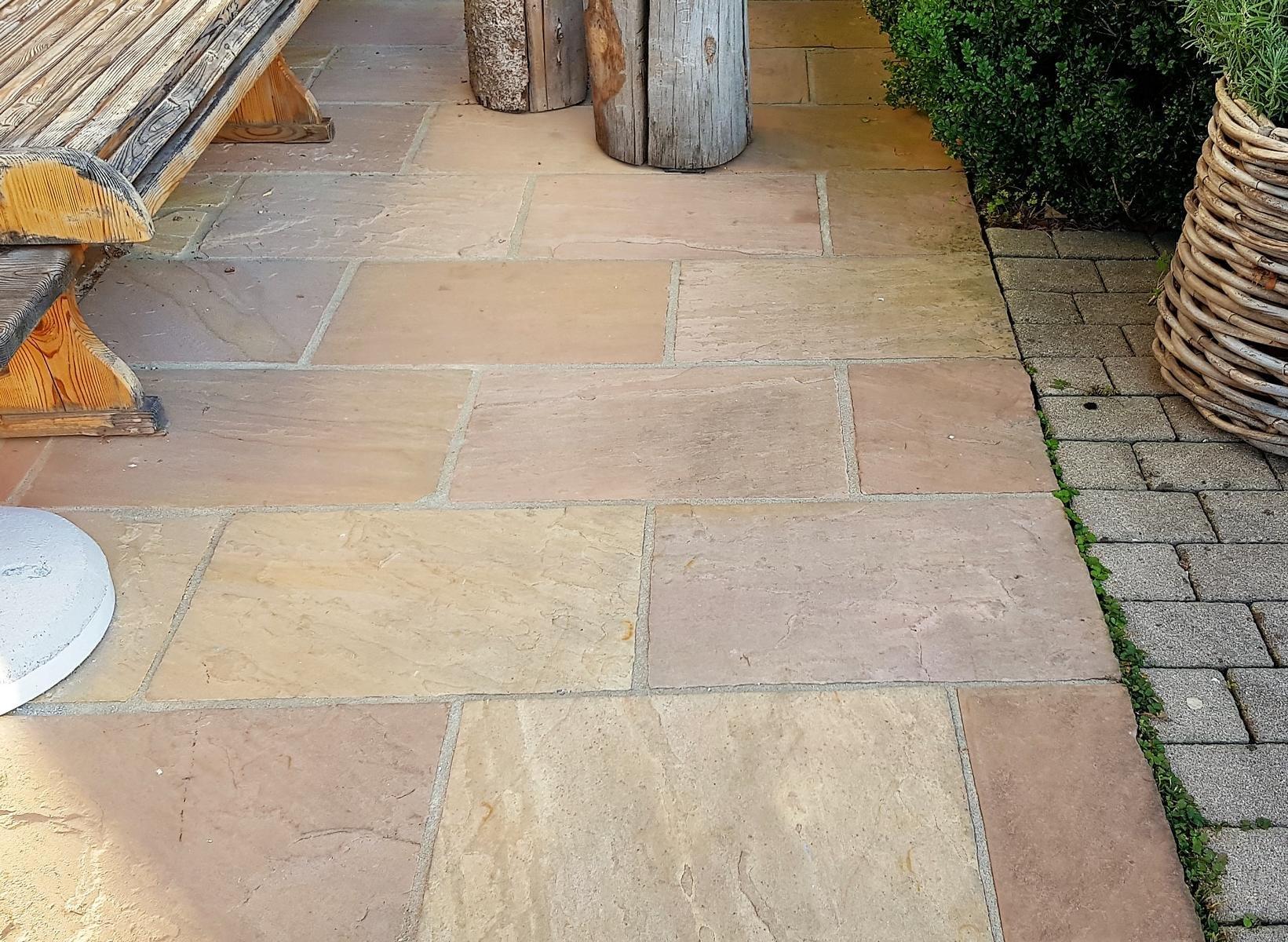 Sandstein Modak Bodenplatten4