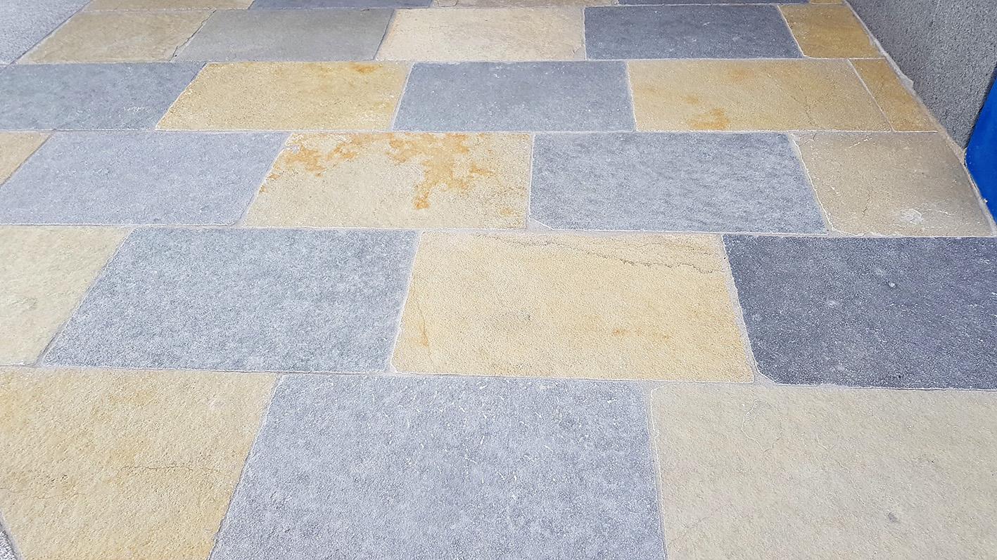 Tandur Yellow + Blue Bodenplatten