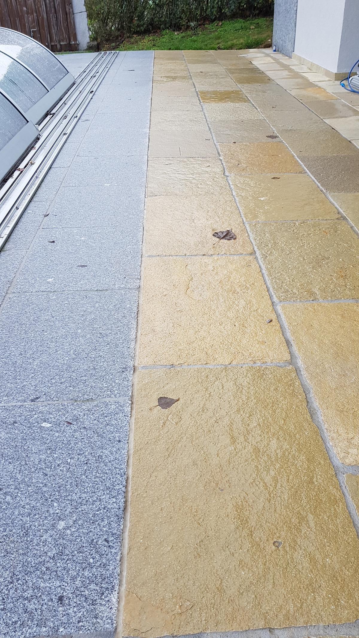 Tandur Yellow Bodenplatten12 NASS