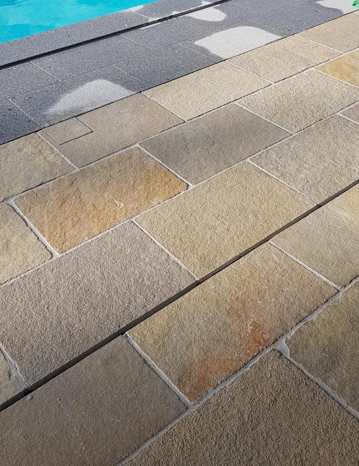Tandur Yellow Bodenplatten4