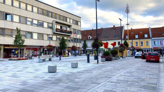 Knittelfeld Hauptplatz2020(1)